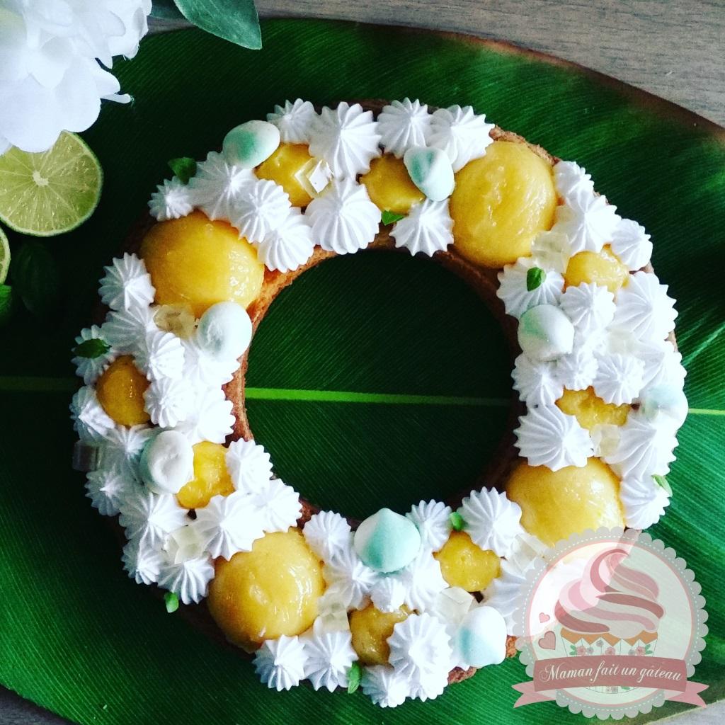 Tarte au citron basilic meringu e maman fait un g teau maman fait un g teau - Tarte citron meringuee recette ...